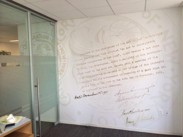 Carnegie Foundation Corp Headquarters